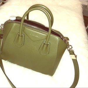 Givenchy Small Antigona' Leather Satchel
